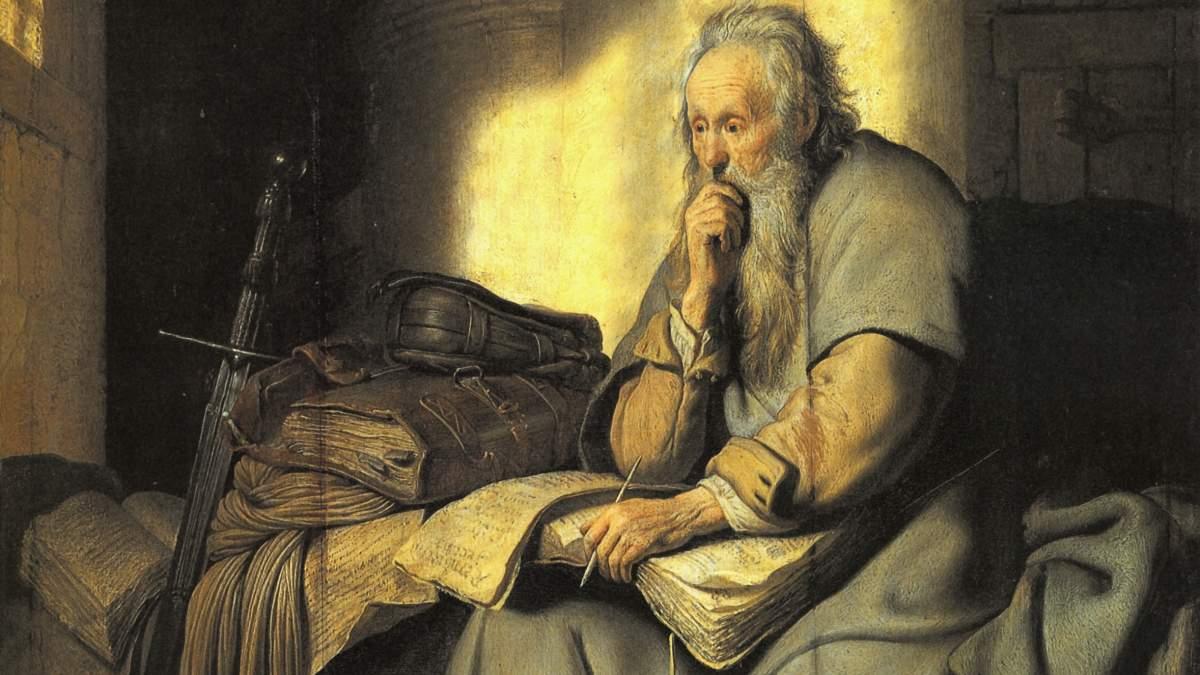 Rembrandt-Paul-in-Prison